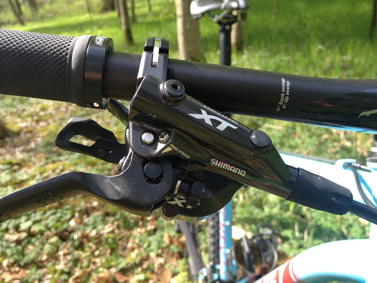 Ritchey P-650b Detail Shimano XT Brake