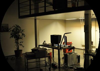 Studio bei Nacht