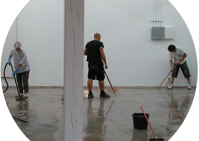 Studio im Bau