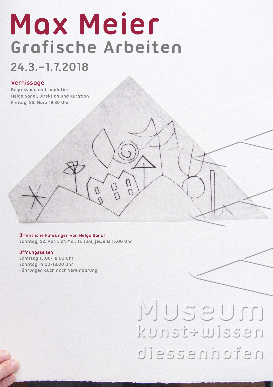 Plakat Max Meier